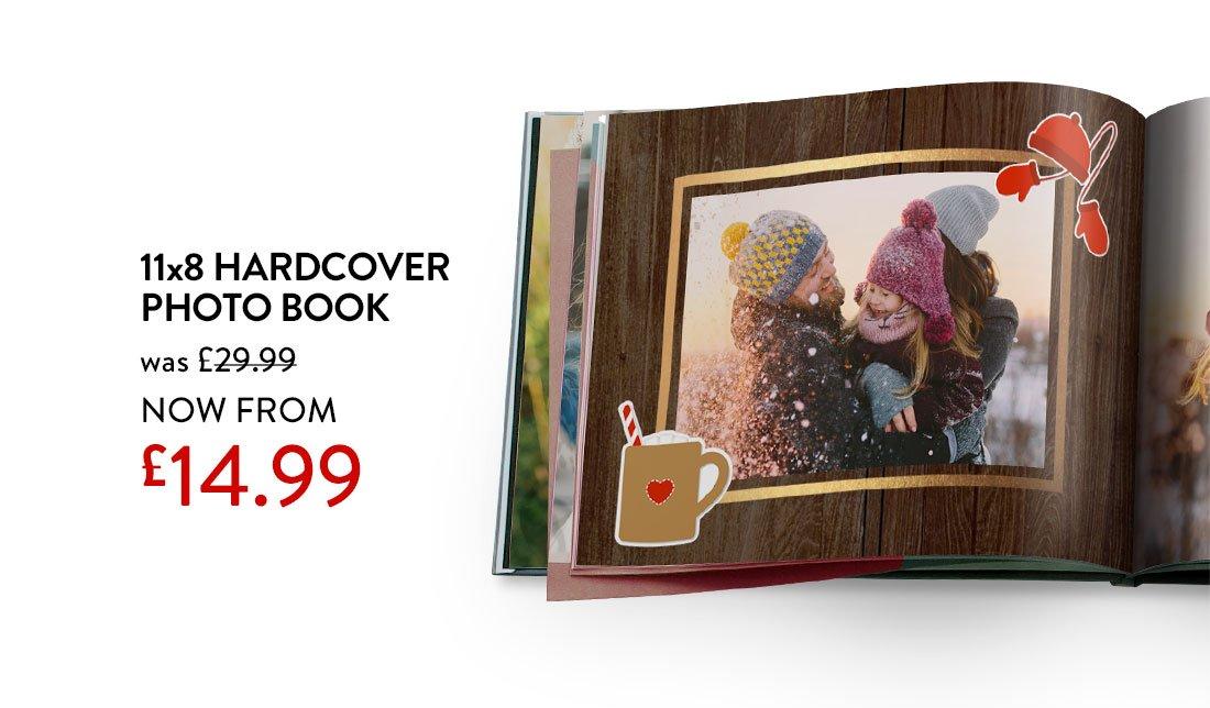 11x8 Hardcover Photo Book