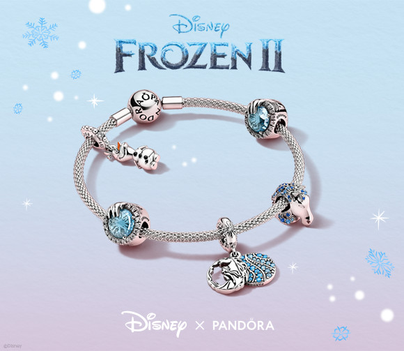 pandora charm frozen