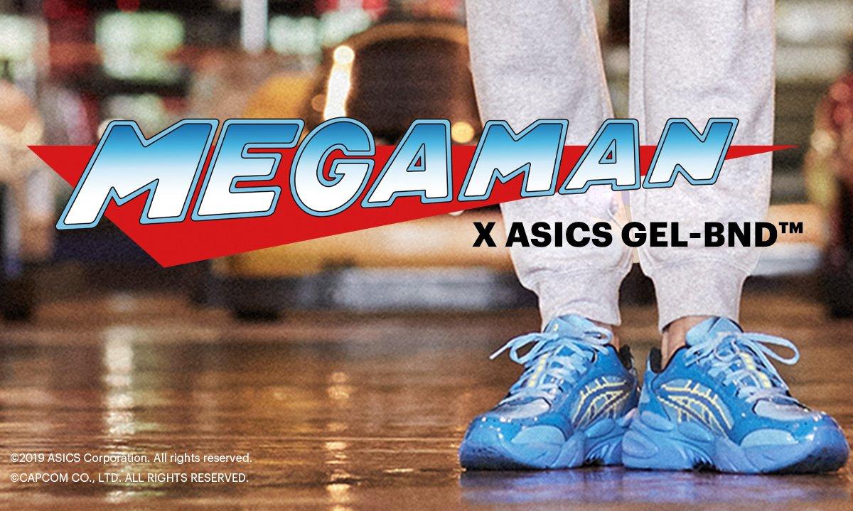 becerro traducir talento  asics es clearance: Introducing Mega Man x ASICS GEL-BND™ | Milled