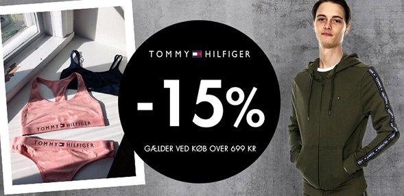 Tommy Hilfiger   15% rabat ved køb for over 699kr