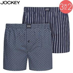 2-Pak Jockey Woven Boxer 315500