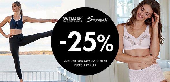 Swegmark   25% rabat! (ved Køb af 2 antal eller flere artikler)