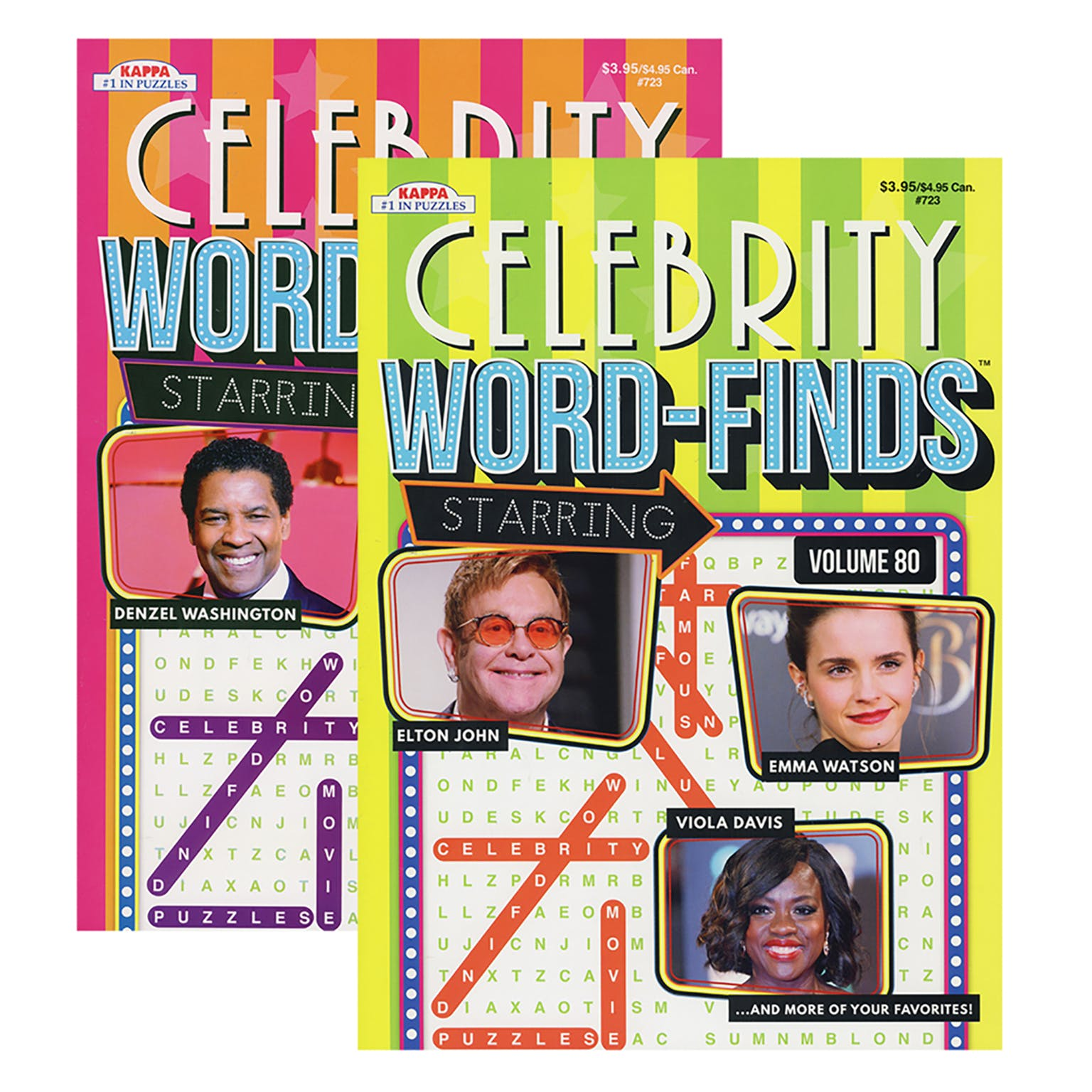 Celebrity Word Finds Puzzle Book