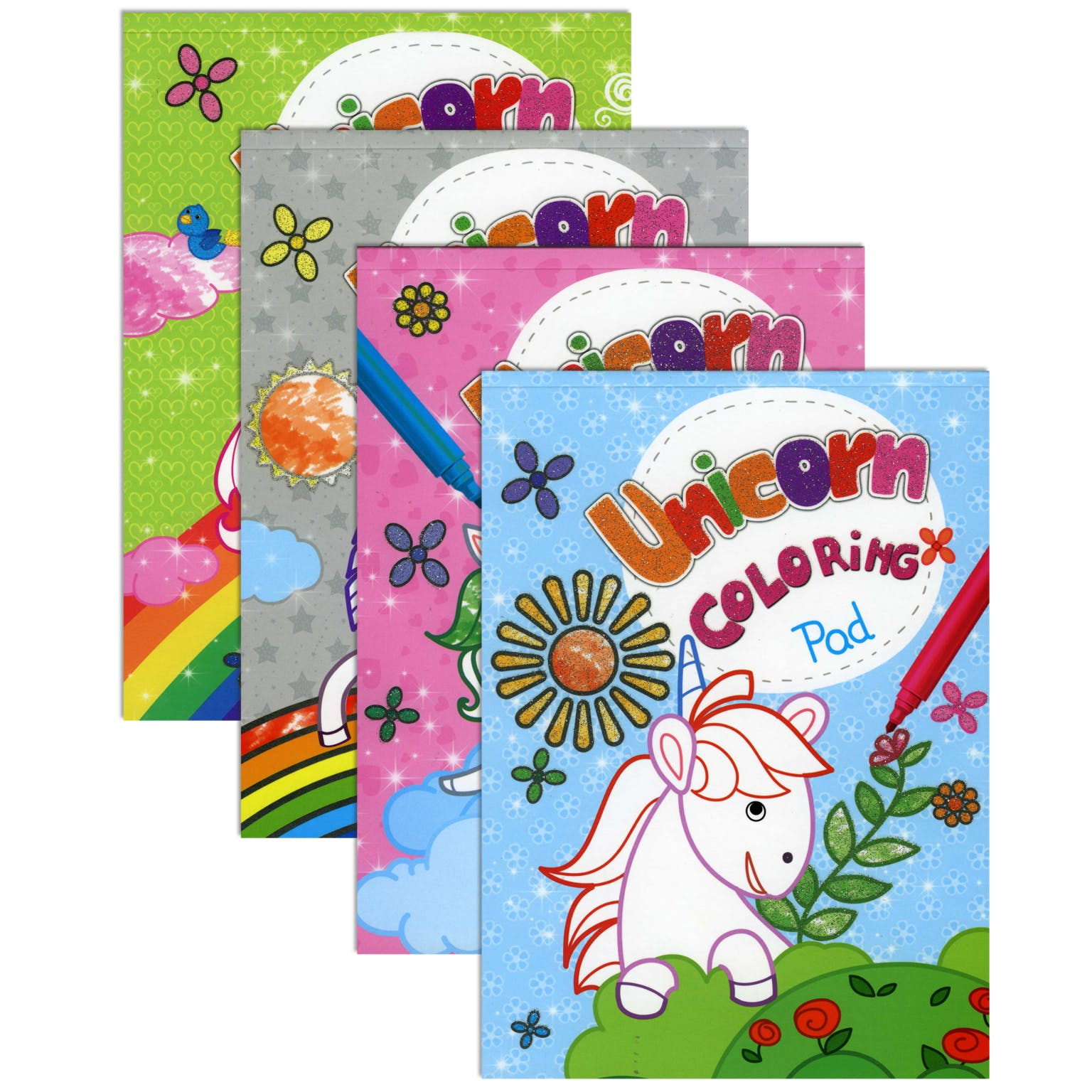 Unicorn Coloring Pads