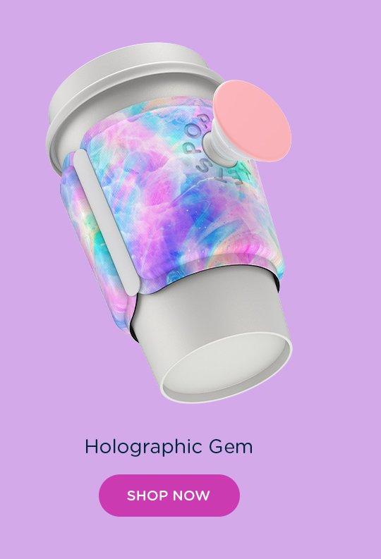 SHop PopThirst Cup Sleeve Holographic Gem