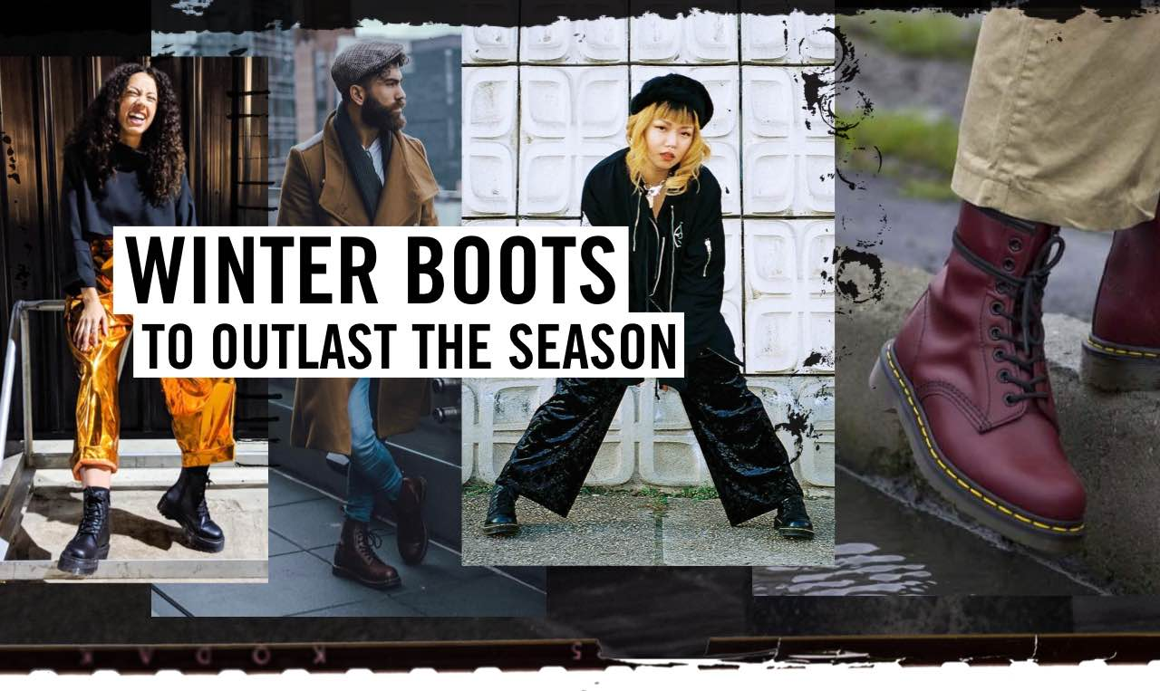 WINTER BOOTS - TO OUTLAST THE SEASON