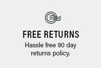 Free 90 Day Returns