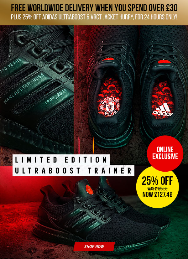 Manchester United Direct Our Ultra Offer 25 Off Plus Free Worldwide Delivery Milled