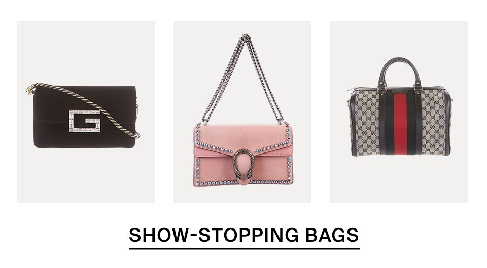 Show-Stopping Bags