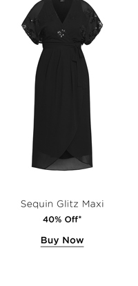 Shop 40% Off the Sequin Glitz Maxi Dress