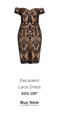 Shop 50% Off the Decadent Lace Dress