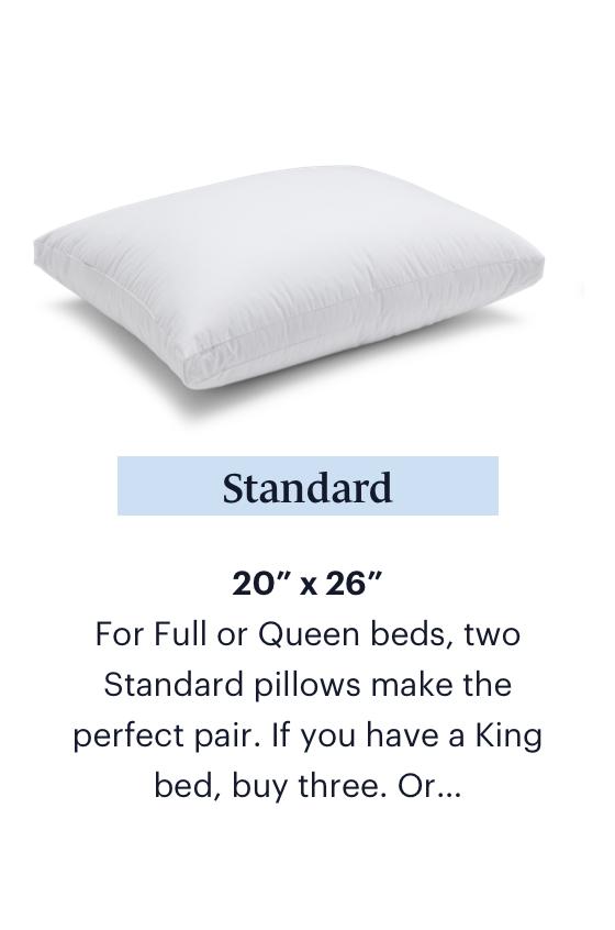 Shop Standard Pillows
