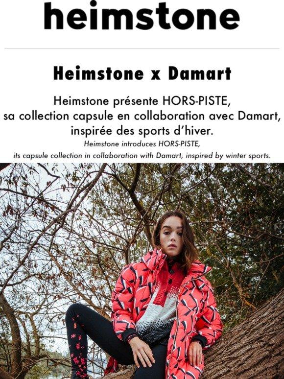 Heimstone: Heimstone x Damart : découvrez la collaboration
