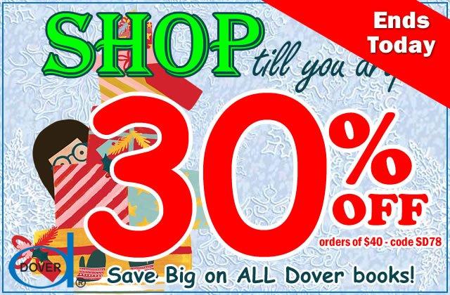 Shop 'til You Drop: Save 30%