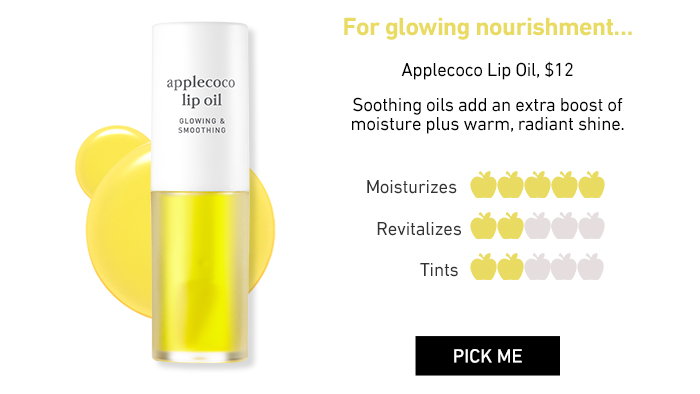 Nooni Applecoco Lip Oil, $12