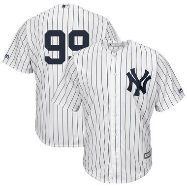 Aaron Judge New York Yankees Majestic Cool Base Player Replica Jersey - White