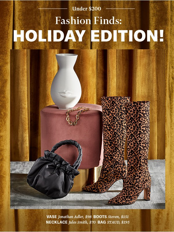 From cozy knits to chic home accents: perfect presents at a price that's nice.