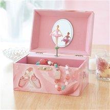 Personalised Ballerina Musical Jewellery Box