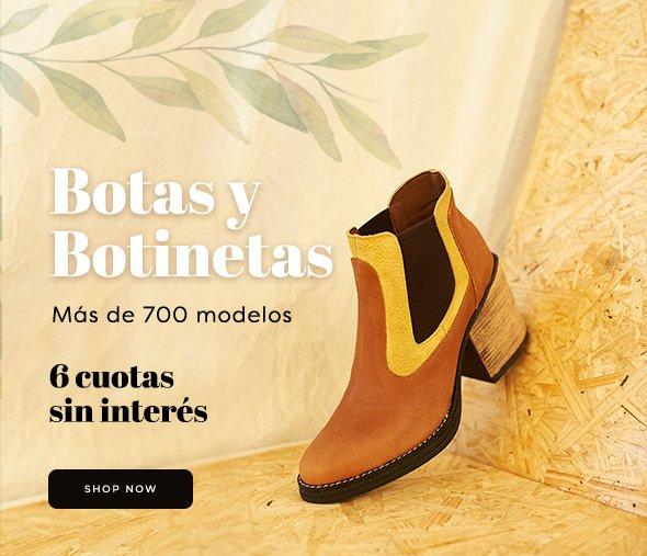 Botas y Botinetas Más de 700 modelos  6 cuotas sin interés