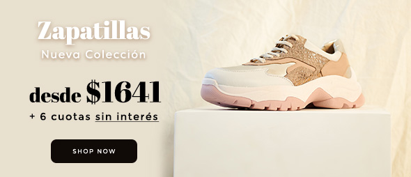 Zapatillas Nueva Colección Desde $1840 6 cuotas sin interés
