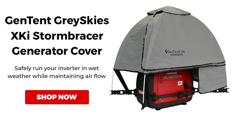 GenTent GT10KXKIGB GreySkies Xki Stormbracer Generator Cover Canopy for Inverter Generators