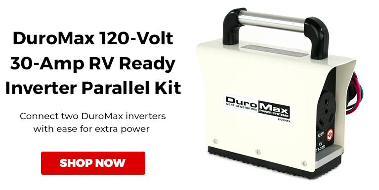 DuroMax XP2000PK 120-Volt 30-Amp RV Ready Inverter Generator Parallel Cable Kit