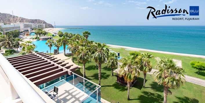 Radisson Blu Fujairah Staycation