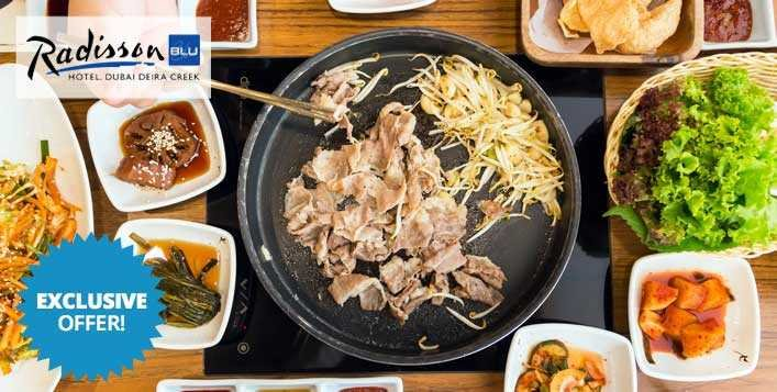 Korean BBQ Dinner Buffet with Beverages