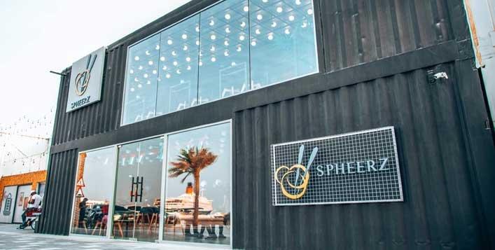 Save 50% at Spheerz Restaurant