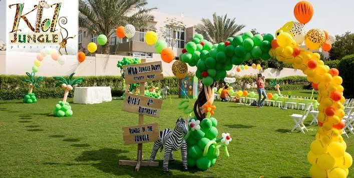Indoor or Outdoor Birthday Party @Kids Jungle
