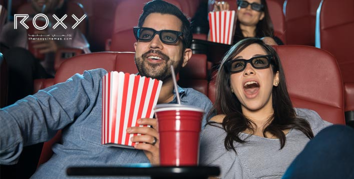 Buy One Get One Voucher at Roxy Cinemas