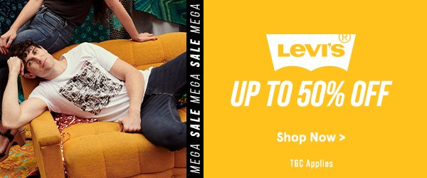Levi's Up to 50% Off Shop Now
