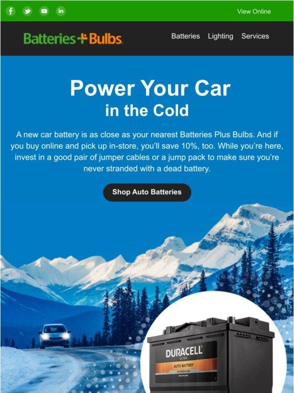 Nearest Battery Store >> Batteriesplus Com Winter S Here Save 10 On A Noco Gb40