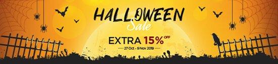 15% OFF - Halloween Sale