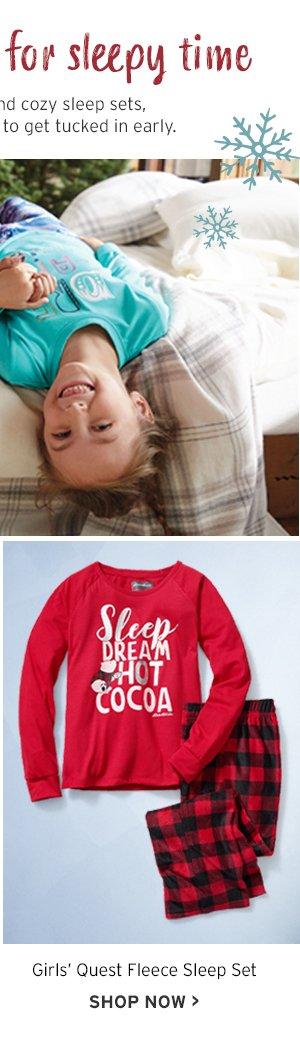GIRLS SLEEP WEAR
