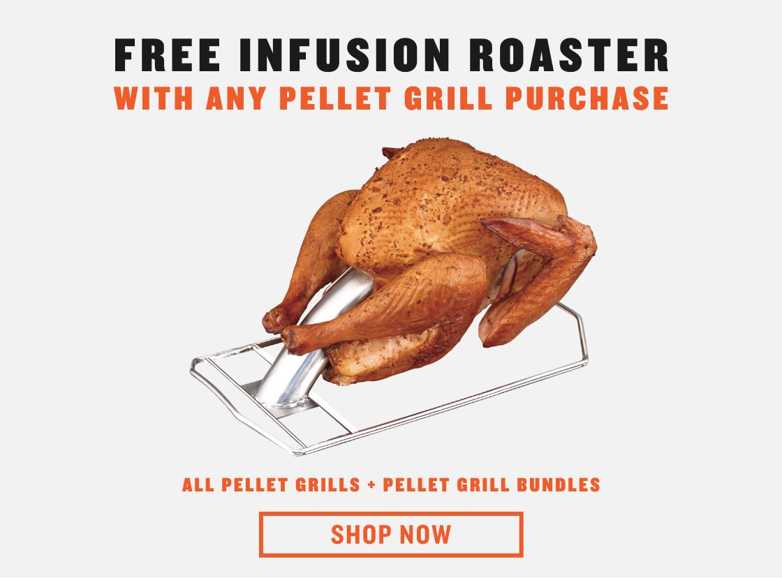 Free Turkey Cannon w/ Pellet Grill Purchase