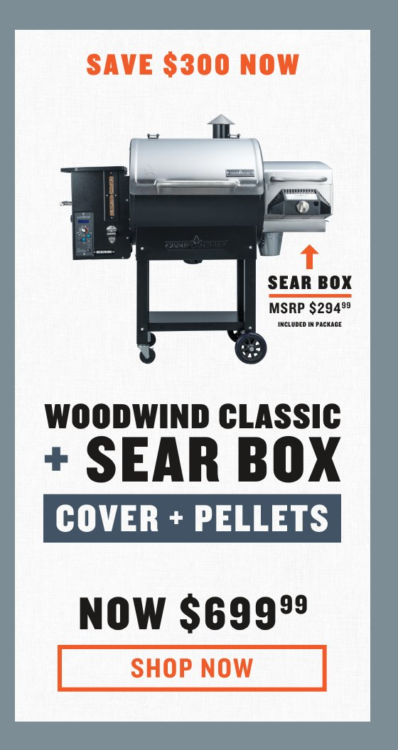 Woodwind Classic w/ Sear Box + Pellets + Cover