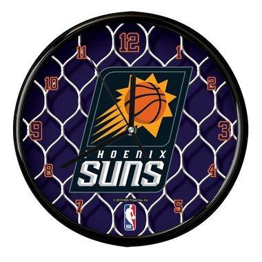 Phoenix Suns 12'' Team Net Clock