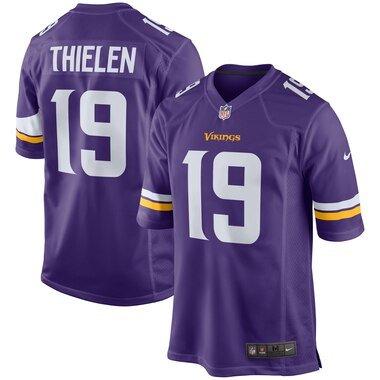 Adam Thielen Minnesota Vikings Nike Youth Game Jersey - Purple