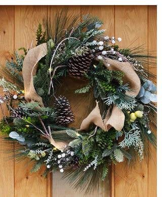 Shop the Outdoor Homestead Pine Wreath