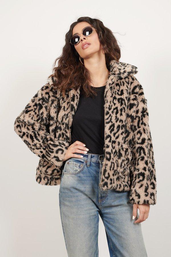 Warm Me Up Multi Leopard Print Faux Fur Jacket