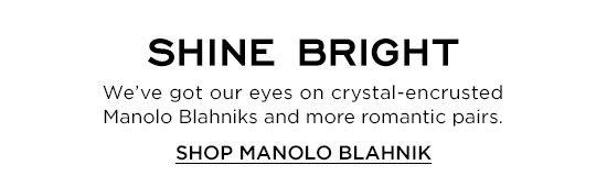 Shop Manolo Blahnik