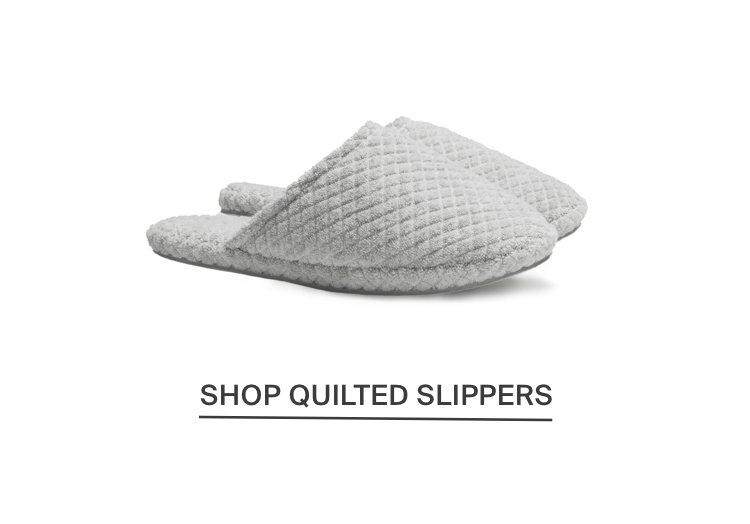 Quilted Slipper - Mineral