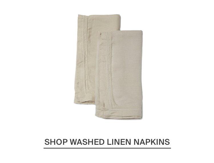 Washed Linen Napkin - Natural