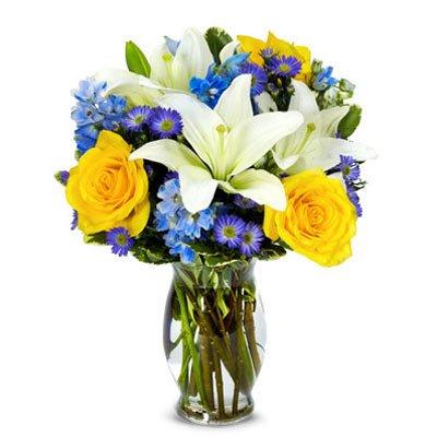 Blue Sky Bouquet