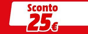 Sconto 25€
