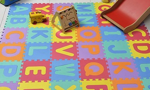 36-Piece Foam Alphabet Set