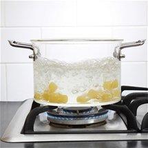 Glass Saucepan