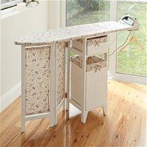 Fold Out Ironing Board & Storage