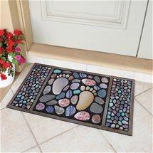 Colourful Footprint Doormat